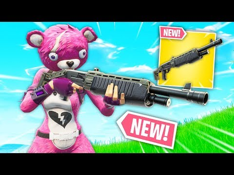 *NEW* LEGENDARY PUMP SHOTGUN! | Fortnite Best Moments #86 (Fortnite Funny Fails & WTF Moments)
