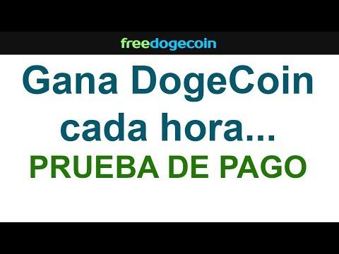 Gana DogeCoin cada hora…  PRUEBA DE PAGO