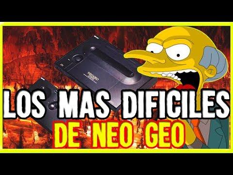 los videojuegos  más difíciles de Neo Geo – Top 10