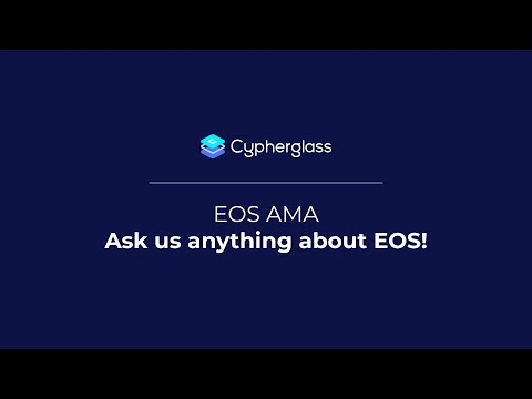 EOS AMA 1: Ask us anything about EOS!