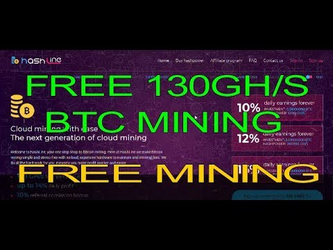 FREE BITCOIN MINING FREE 130 GH/S MINING POWER WITHOUT INVESTMENT