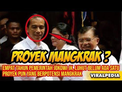Empat Tahun Pemerintah Jokowi JK, Luhut Belum Ada Satu Proyek pun yang Berpotensi Mangkrak