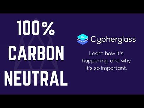 66,454 times more efficient than Bitcoin! EOS = Carbon Neutral