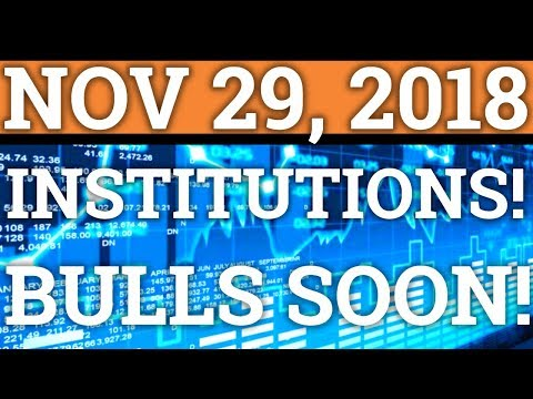 *PROOF* INSTITUTIONS ARE BUYING CRYPTOCURRENCY? BULLS COMING? BITCOIN BTC, TRON TRX PRICE, NEWS 2018