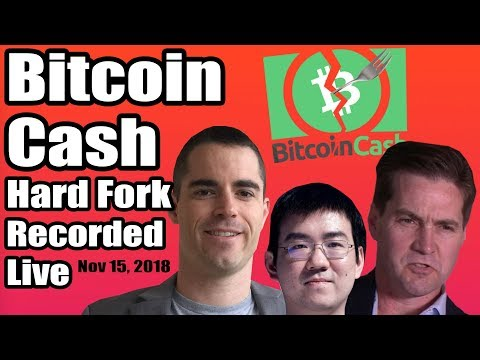 Did you miss the Bitcoin Cash hard fork? ABC vs SV. Recorded live. Action-packed with commentary.