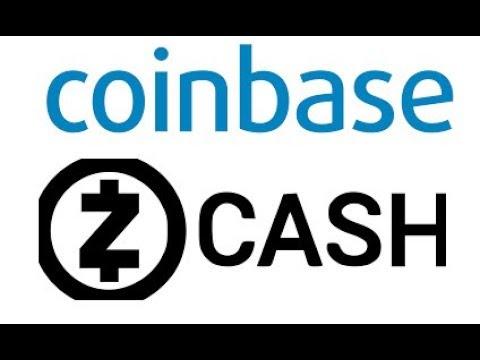 Coinbase Adds ZEC to Coinbase Pro