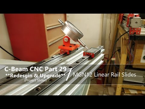 #29 Linear Sliding Rail Guide #29 / MGN12 / Dial Gauge Jig / Improving Movement / Butting Rails