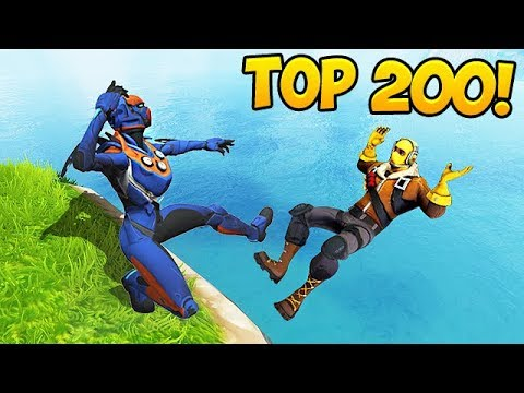 TOP 200 BEST FORTNITE FAILS & MOMENTS EVER!