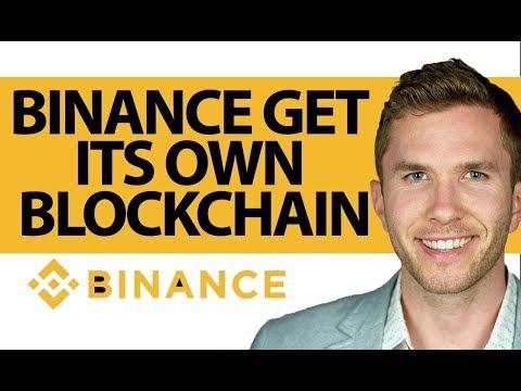 Binance Builds Its Own Blockchain   HUGE news for BNB coin (Binance Chain, Binance Blockchain)