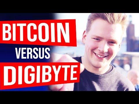 BITCOIN vs DIGIBYTE – Josiah Interview