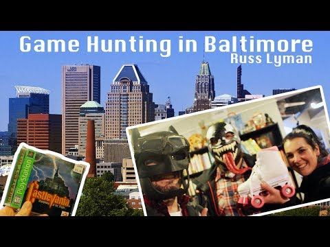 Game Hunting in Baltimore   Canton Games and  Protean Books & Records