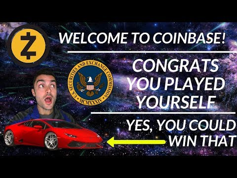 Coinbase Adds Zcash, SEC comes after Floyd & DJ Khaled, Nagezeni Lambo Contest?