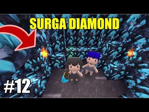 SURGA DIAMOND!! ADA BAMBANG JADI HOKI WKWK :V | MINI WORLD BLOCK ART #12