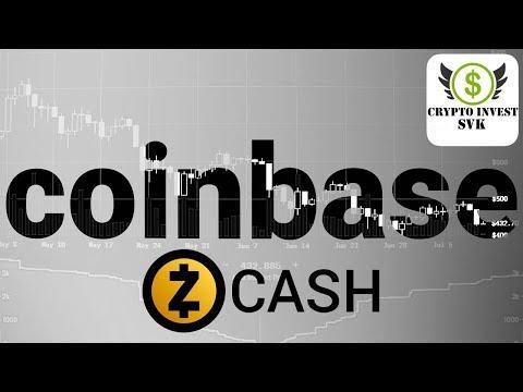 Zcash pridaný na Coinbase Pro… Ktorý token další..???