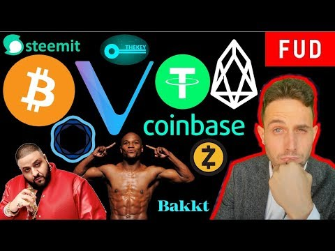 EOS to 10M TPS? Tron $100M Fund? Tether to Fiat? Coinbase TheKey OceanEx VeChain SteemIt Bitcoin
