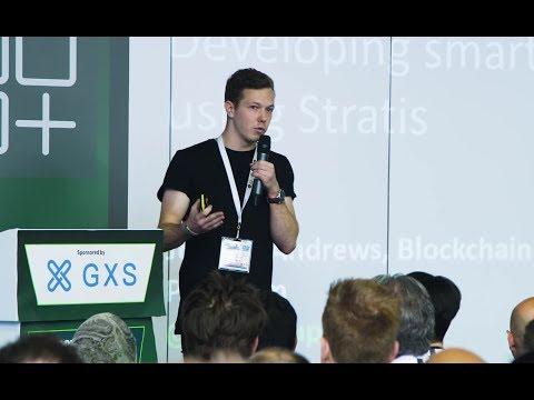 Stratis Platform | C# Smart Contracts • Presentation by Jordan Andrews (London)