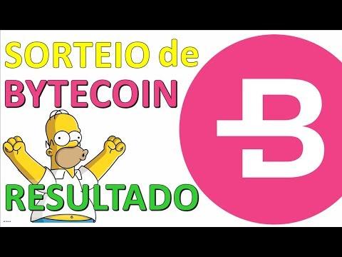 SORTEIO DE BYTECOIN | RESULTADO