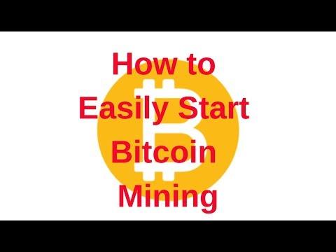 How to Easily Start Bitcoin Mining (Bitcoin Miner Tutorial).