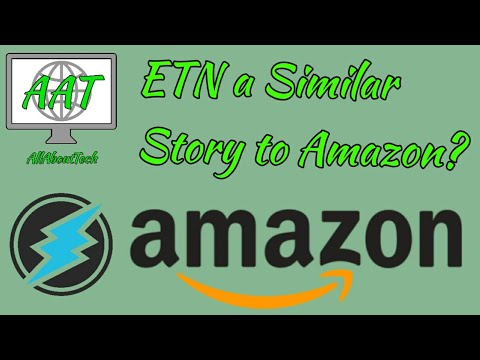 Electroneum a Similar Story to Amazon? MUST SEE ARTICLE!