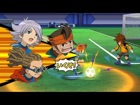 Inazuma Eleven Go Strikers 2013 Inazuma Japan Vs Ultra Neo Japan Wii 1080p (Dolphin/Gameplay)