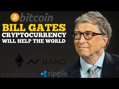 Bill Gates Says Cryptocurrency Will Help the World
