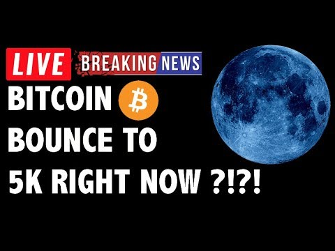 Will Bitcoin (BTC) Bounce to 5K Right Now?! – Crypto Market Technical Analysis & Cryptocurrency News