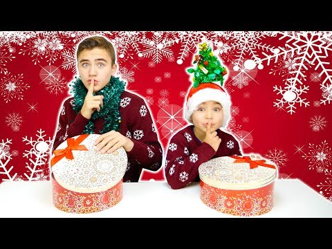 MYSTERY BOX CHRISTMAS SWITCH-UP CHALLENGE !!!