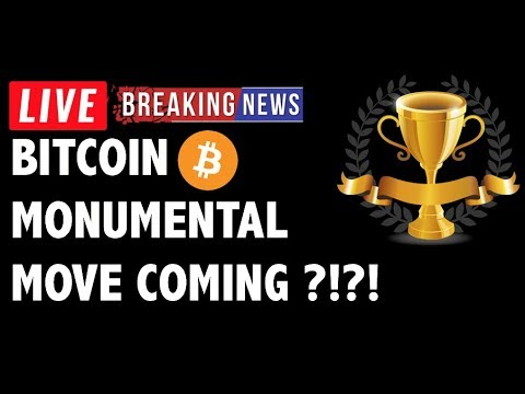 Monumental Move Coming for Bitcoin (BTC)?! – Crypto Market Trading Analysis & Cryptocurrency News