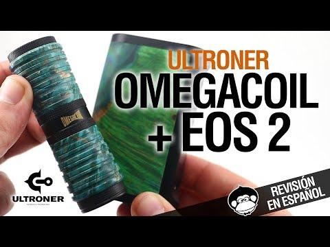 Ultroner OMEGACOIL y EOS 2 / pepino de brass y madera / revisión