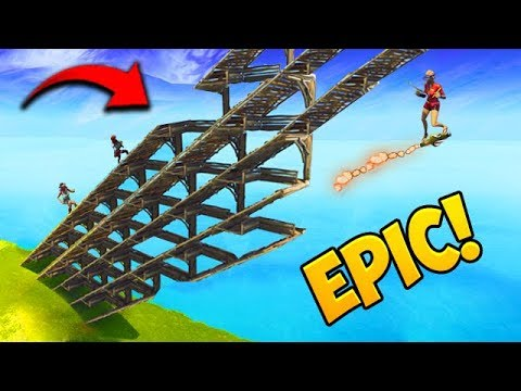 INSANE BUILDING TRICK! – Fortnite Funny Fails and WTF Moments! #398