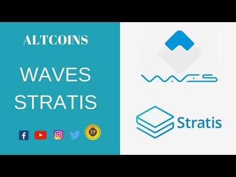 Altcoins – WAVES E STRATIS
