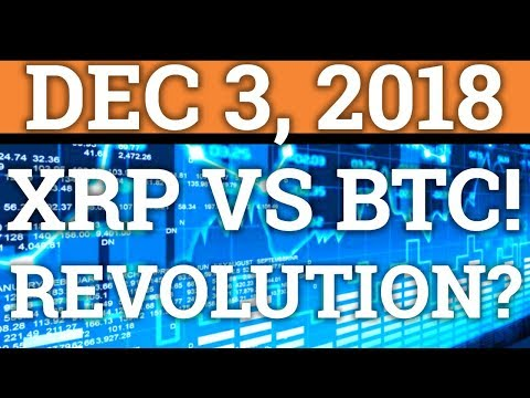 HUGE RIPPLE XRP NEWS! WILL IT PASS BITCOIN? CRYPTOCURRENCY REVOLUTION COMING? BTC PRICE + NEWS 2018