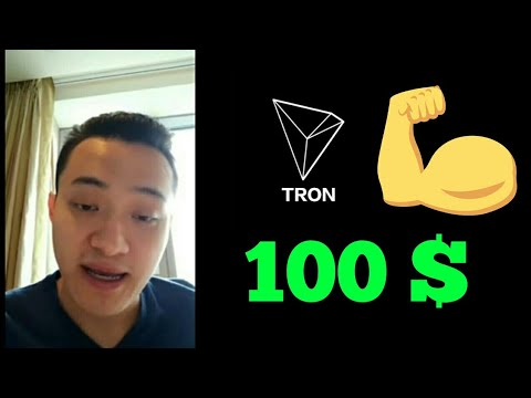 Tron will be most the Powerful coin in Future | 100$ | Justin Sun Talking about their Investors