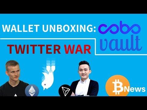 Tron vs Ethereum DRAMA! Plus COBO Vault Unboxing – Today's Crypto News