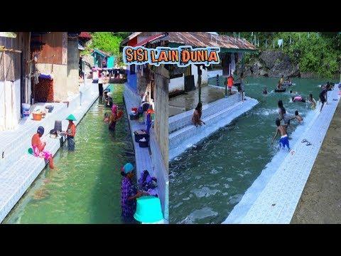 Hanya ada di Maluku, Sungai Unik & Tak biasa seperti ini, Bikin iri !!