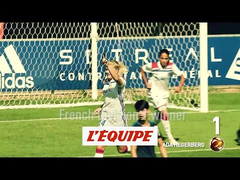 Ada Hegerberg (Olympique Lyonnais) sacrée – Foot – Ballon d'Or féminin