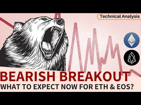 Bearish Breakout For ETH & EOS – What to Expect Now?