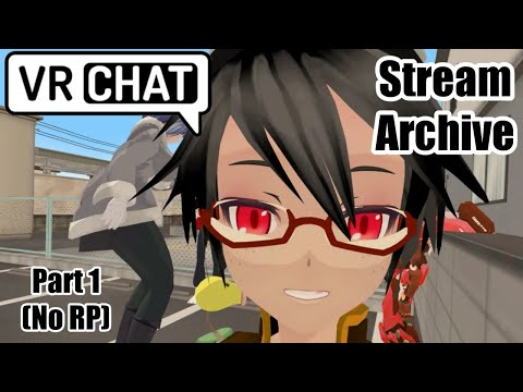 [VRC Stream] New Character! Casual Train RP! (Part 1) (No RP)