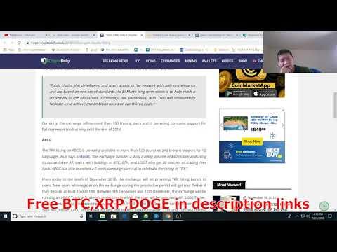 TRON(TRX) gains two more exchange listings