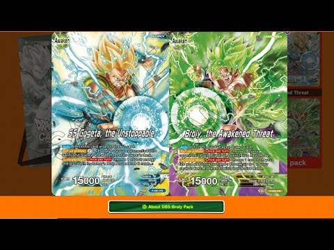 Broly Pack, BCC, and Event Pack 3!! – Dragon Ball Super Card Game w/MasterMariK