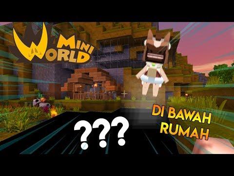 DI BAWAH RUMAHKU ADA… – Mini World Block Art Survival Indonesia #9