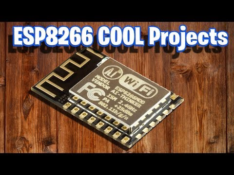 Cool ESP8266 Iot Projects
