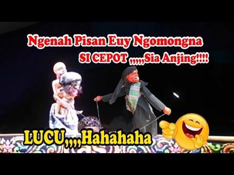 Wayang Golek Bobodoran SI CEPOT Uppercut Ku Aing Sia ANJING