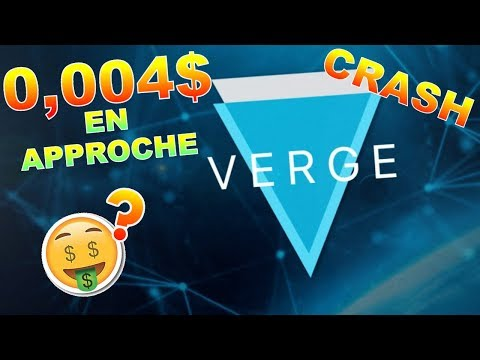 VERGE 0.004$ EN VUEEEE !!!??? XVG analyse technique crypto monnaie BITCOIN