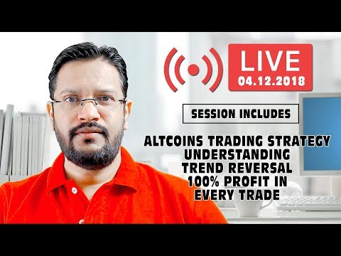 Cryptocurrency Altcoins Trading Strategy. Understanding Trend Reversal 100% Profit in Every Trade