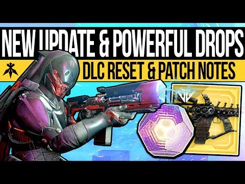 Destiny 2 | ARMORY RESET & NEW CONTENT! 650 Power Tips, Patch Notes, ADA-1 Quests & Launch Trailer!