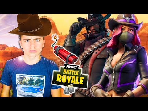 COWBOY & DYNAMITE ! MODE FAR WEST – FORTNITE BATTLE ROYALE – Néo The One