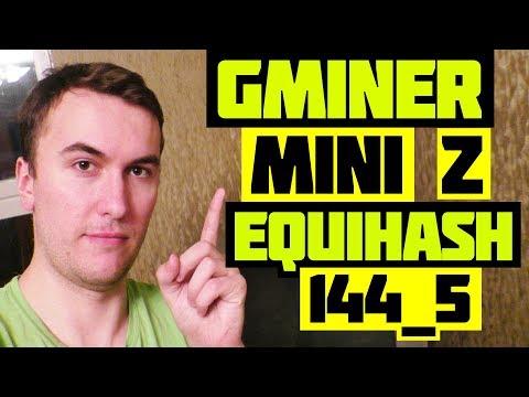 МАЙНИНГ BITCOIN GOLD (EQUIHASH 144_5): GMINER VS MINIZ MINER