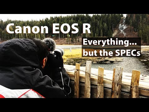 Canon EOS R Review: Everything…but the SPECs