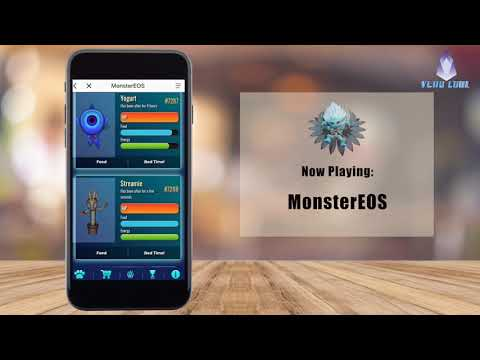 MonsterEOS 3D Gaming | Mobile Walkthrough using meet.one app | EOS Apps